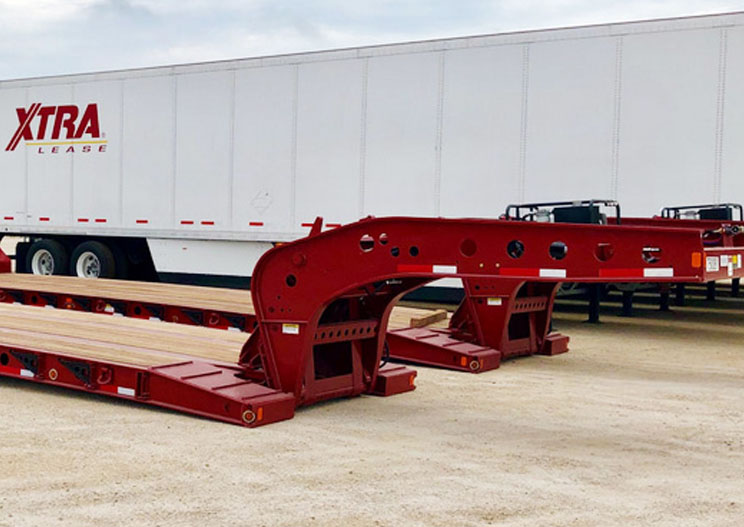 50 Ton Lowboy Features