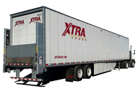 Liftgate Reefer Trailer